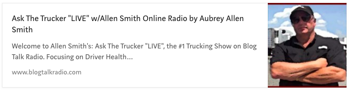 Ask the Trucker Live
