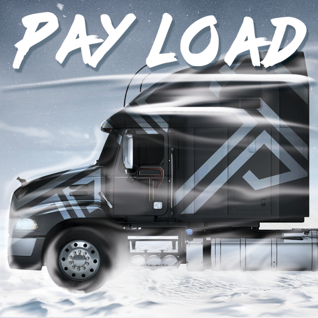 Truck only with Payload - Square